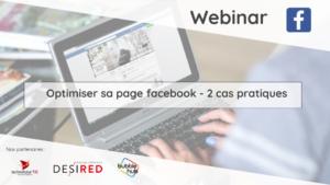 Télécharger les slides du webinaire « Optimiser sa page Facebook : 2 cas pratiques »